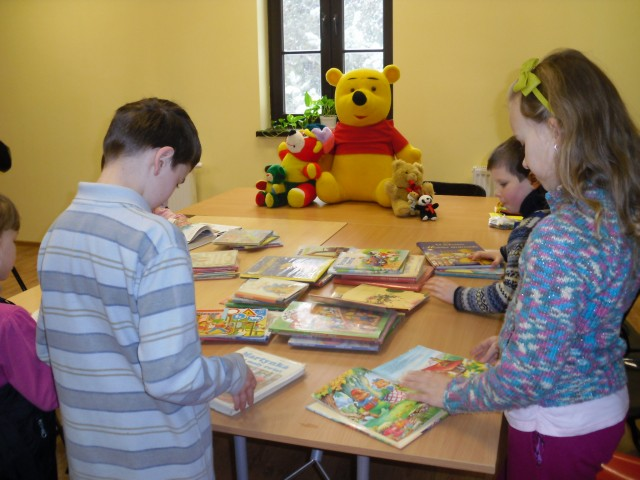 FERIE 2012 W GMINNEJ BIBLIOTECE PUBLICZNEJ W IWONICZU-ZDROJU