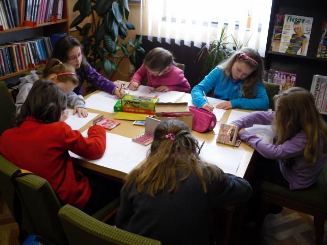 FERIE 2012 W BIBLIOTECE / FILII W LUBATOWEJ