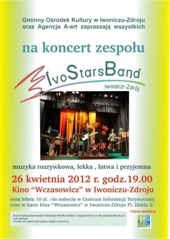 IvoStarsBand - koncert w kinie.