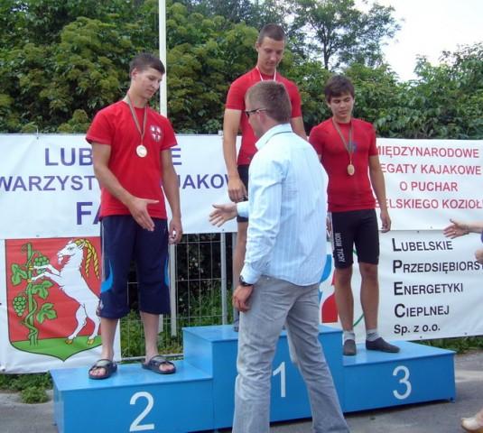 Srebrny medal w Międzynarodowych Regatach Kajakowych