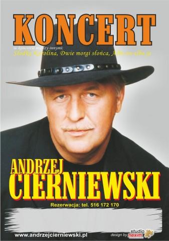 Andrzej Cierniewski - koncert w Iwoniczu-Zdroju