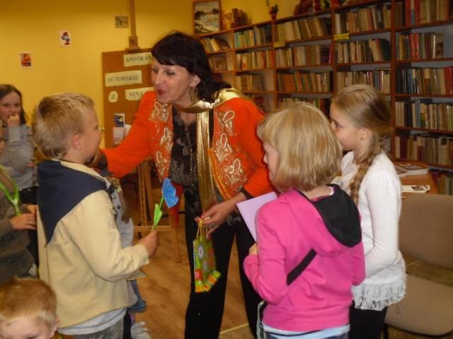 Spotkanie z Niną Opic - autorką bajek dla dzieci