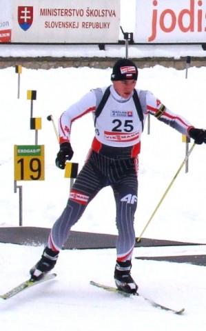 Podium biathlonisty z IKN