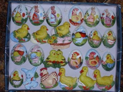 Warsztaty Wielkanocne - gipsowe ozdoby świateczne