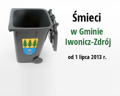 Informacja o nowych zasadach rozliczeń za odpady komunalne