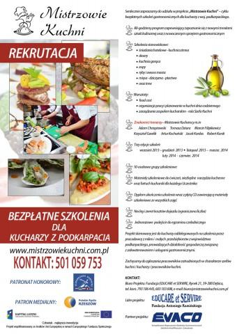 Bezpłatne szkolenia gastronomiczne