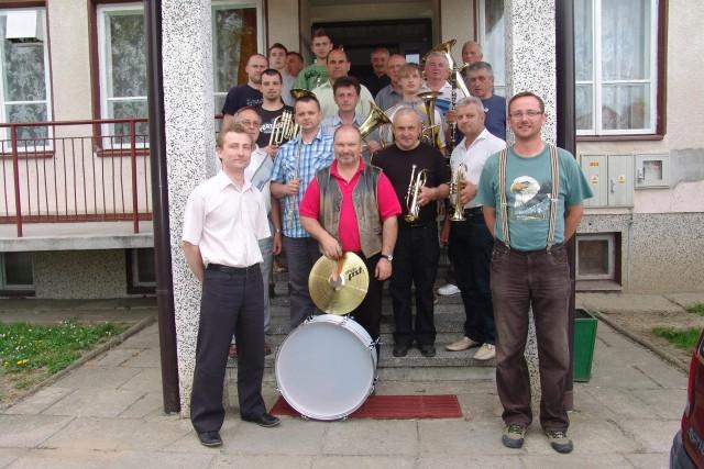 Nowe instrumenty dla Gminnej Orkiestry Dętej w Iwoniczu.