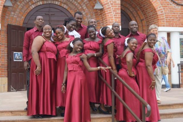 Grupa Claret Gospel z Wybrzeża Kości Słoniowej