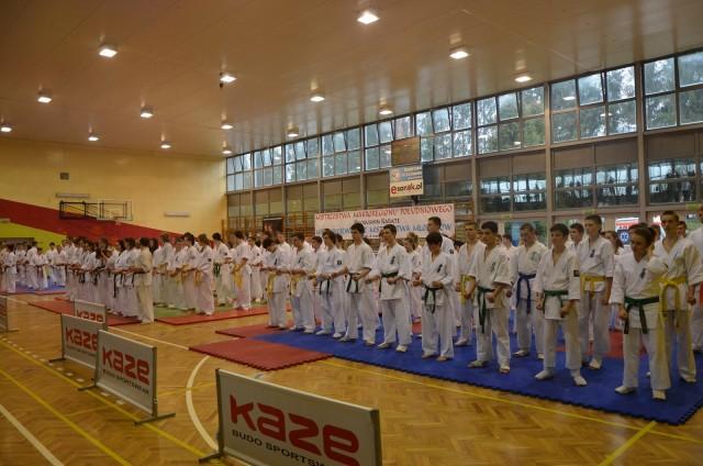 Mistrzostwa Makroregionu Południowego oraz Międzywojewódzkie Mistrzostwa Młodzików w karate kyokushin