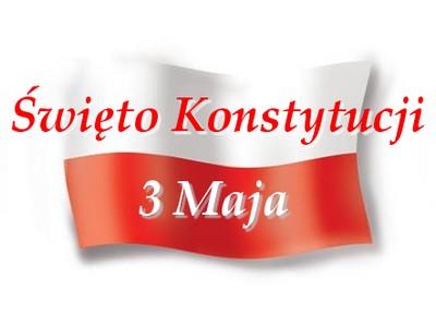 Rocznica Konstytucji 3 Maja -   uroczystości  powiatowe