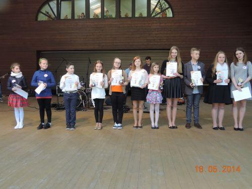Laureaci XIX Gminnego Konkursu Piosenki