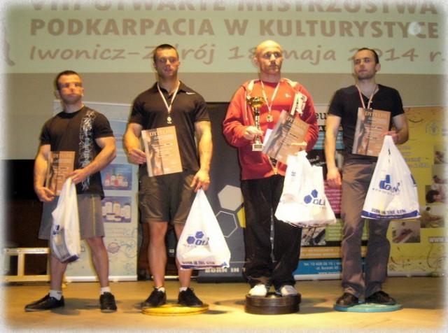 Otwarte Mistrzostwa Podkarpacia w Kulturystyce i wyciskaniu sztangi leżąc