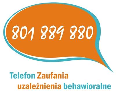 Telefon zaufania - uzależnienia behawioralne