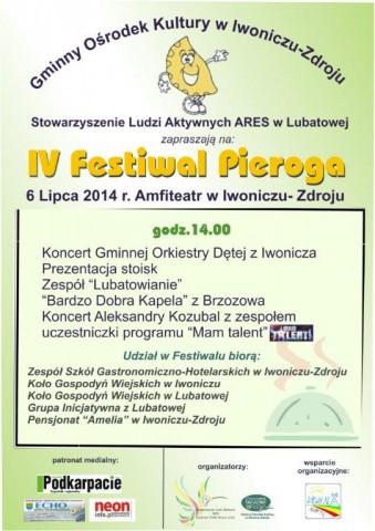 IV Festiwal  Pieroga