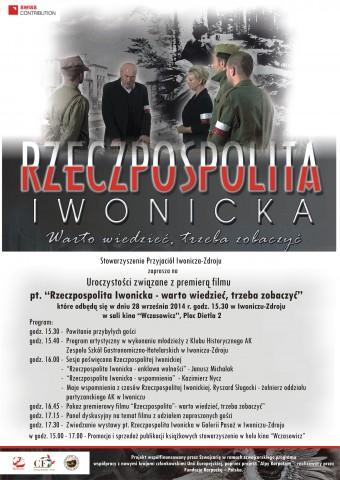 Stowarzyszenie Przyjaciół Iwonicza-Zdroju zaprasza na premierę filmu: