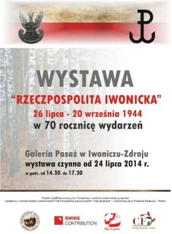 Wystawa Rzeczpospolita Iwonicka
