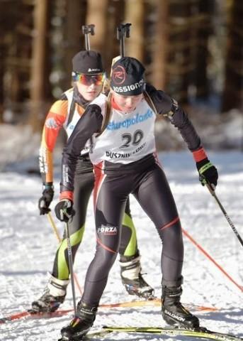 Kamila Cichoń na podium Baltic Biathlon Cup