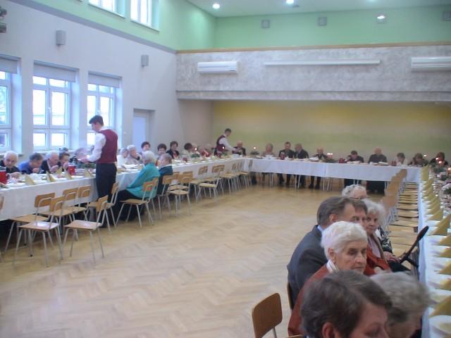 Spotkanie Opłatkowe dla najstarszych mieszkańców Iwonicza