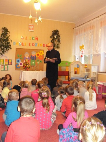 Wizyta duszpasterska w naszym przedszkolu