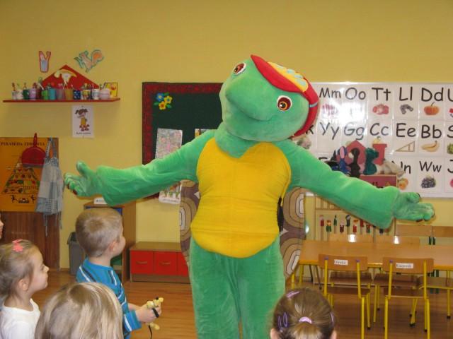 Spotkanie z żółwiem Franklinem- 18.12.14r.
