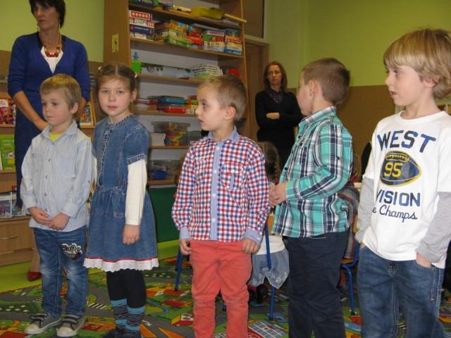 Wigilia przedszkolana- 19.12.2014r.