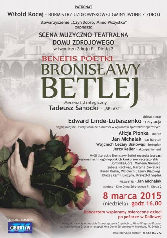 Benefis Poetki Bronisławy Betlej
