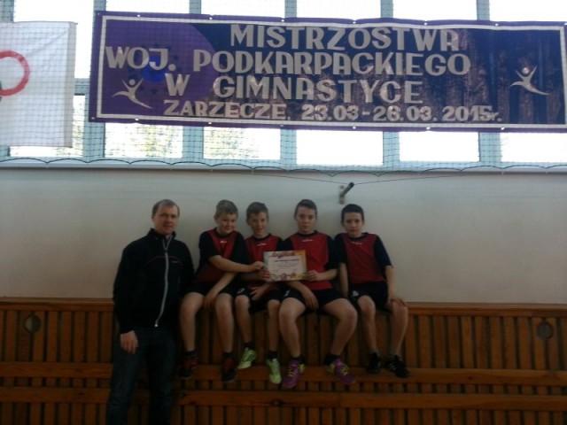 Mistrzostwa Województwa Podkarpackiego w Gimnastyce